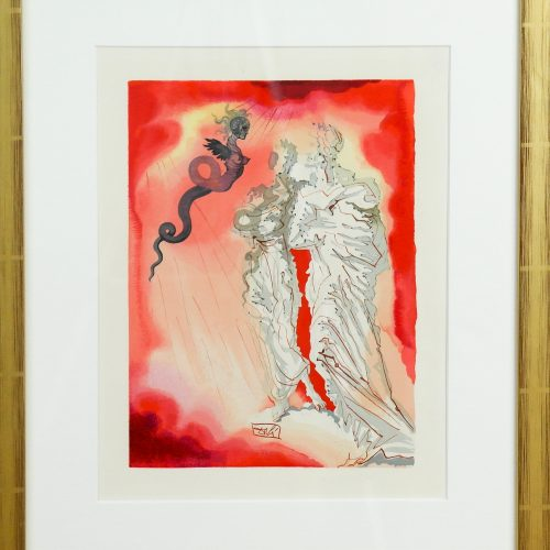 Divine comedie Lithographie