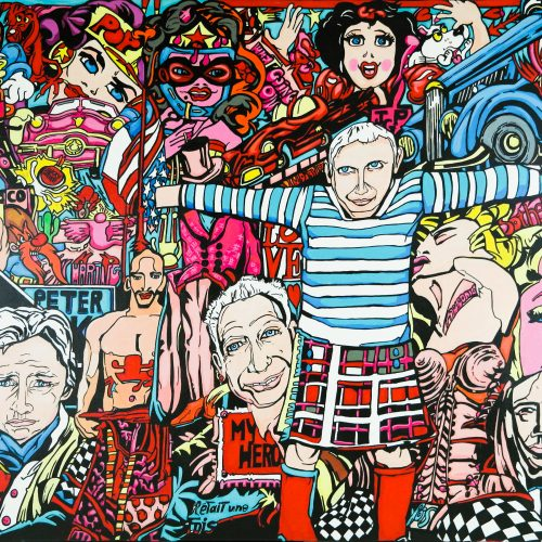 Pop Idols Tableau 100x150